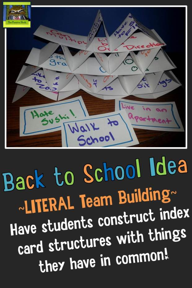 Blasting Back To School Giveaway and Blog Hop Literal Team Building STEM Activity for 5th Grade