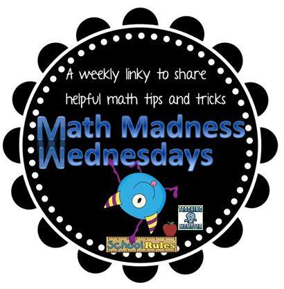 Math Madness Wednesdays Link from The Teaching Momster