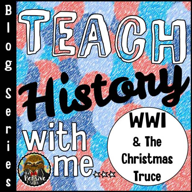 Teach History With Me Blog Series from The Pensive Sloth for Teaching 5th and 6th Grade History