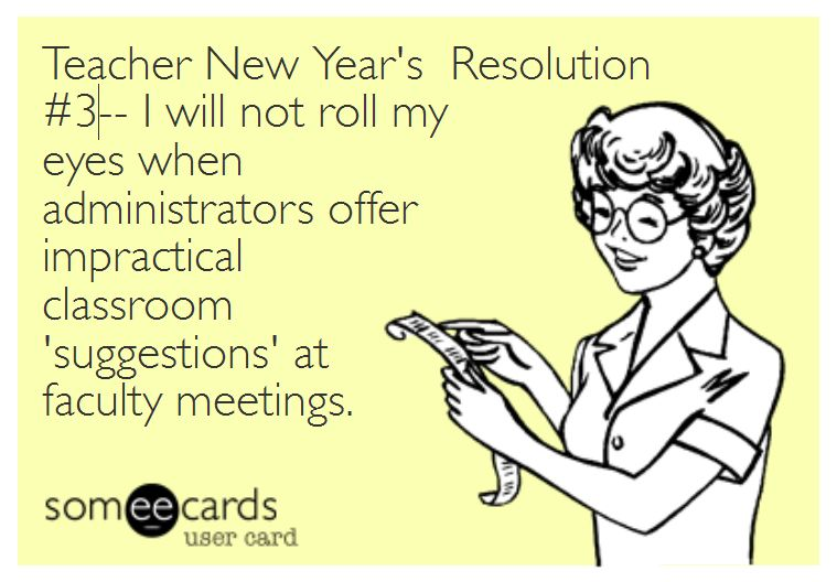 Top 10 Teacher New Year S Resolutions The Pensive Sloth
