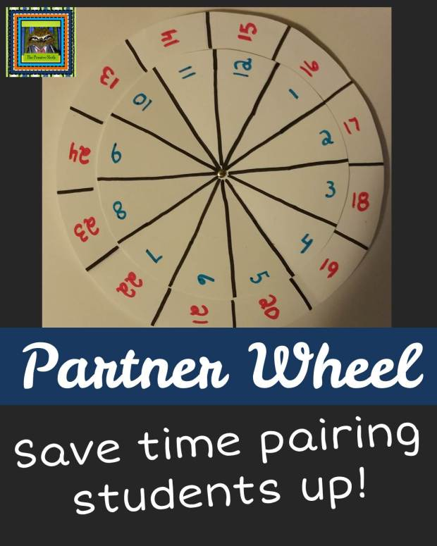 Turn and Talk  or Partner Wheel for 5th Grade ELL Students