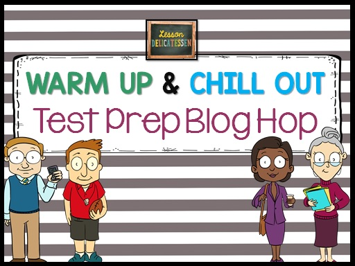 Test Prep Blog Hop for 4th 5th and 6th Grade
