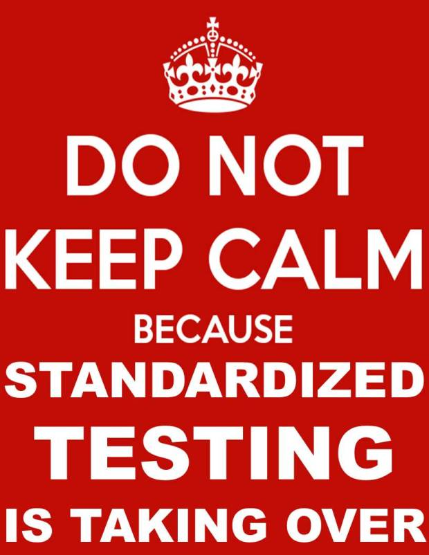 Keep Calm Standardized Testing MEME