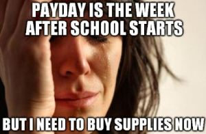 Back to School Teacher Humor from The Pensive Sloth Payday
