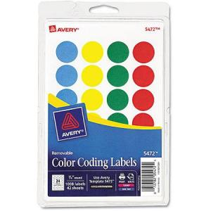 Colored Dot Stickers for Teachers