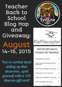 5th Grade Back to School Blog Hop Giveaway Thumbnail for Rafflecopter