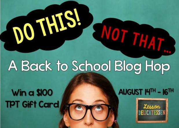 5th Grade Back to School Blog Hop and Giveaway August 2015