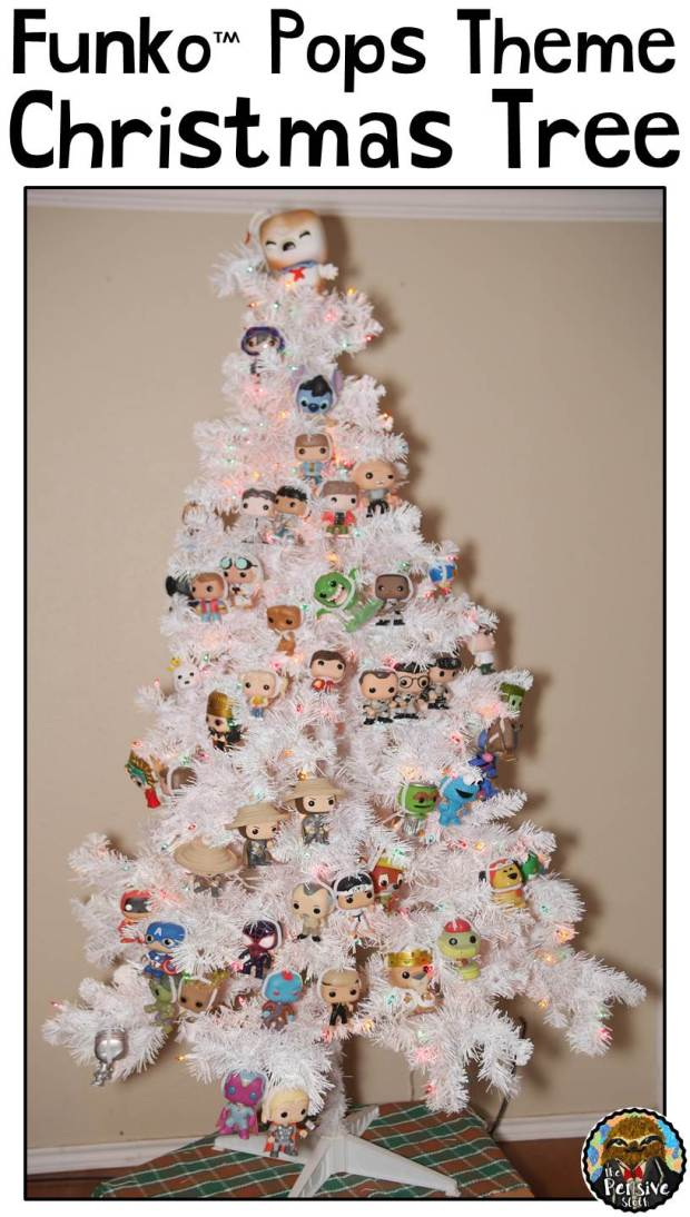 Funko Pop Theme Christmas Tree from The Pensive Sloth Christmas Tree Ideas