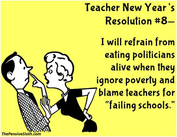 teacher new year u2019s resolutions u2013version 2016