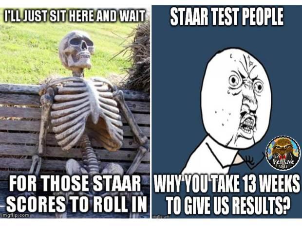 Funny STAAR Test Meme